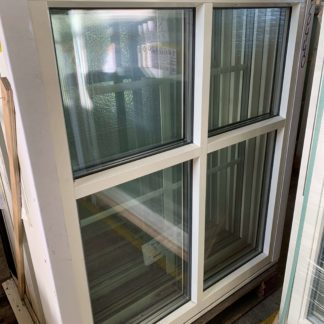 Vridfönster Trä/alu 11x13 M 1:1 Glasdelande post liggande på 1/3
