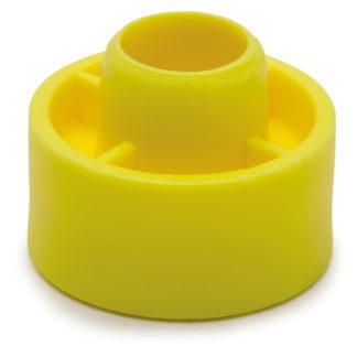 Distansbricka FAST Avsedd för användning tillsammans med karmhylsa. Distansbrickan bygger 10 mm och fästs på karmhylsan när det är för mycket luft mellan karm och vägg (upp till 23 mm).