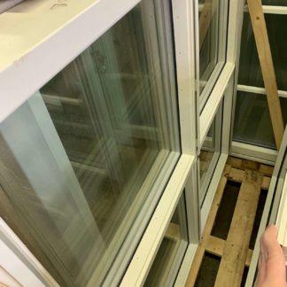 Fast fönster i trä 12x12