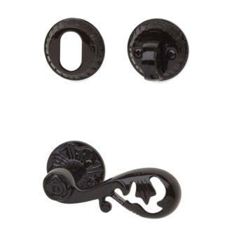 Dörrhandtag inkl. cylindervredsats A4472+1472-1473 Antiklack