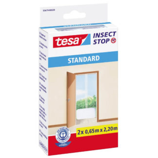 Insektsnät standard dörr 2x 0,65x2,20m