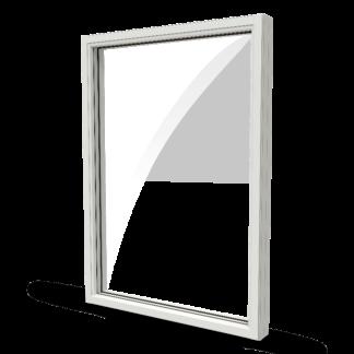 NorDan Ntech fönster fast karm trä alu