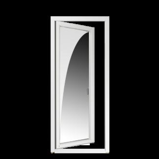 NorDan Tanum helglasad fönsterdörr trä aluminium