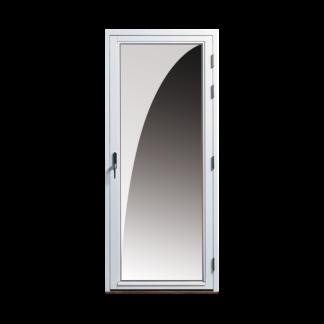 NorDan helglasad fönsterdörr Tanum trä aluminium