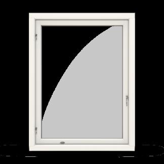 NorDan Tanum fönster sidohängt kultur trä aluminium inifrån