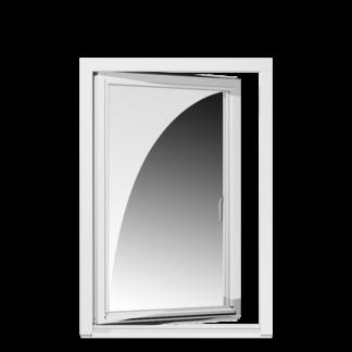 NorDan Tanum sidohängt fönster inåtgående trä / aluminium